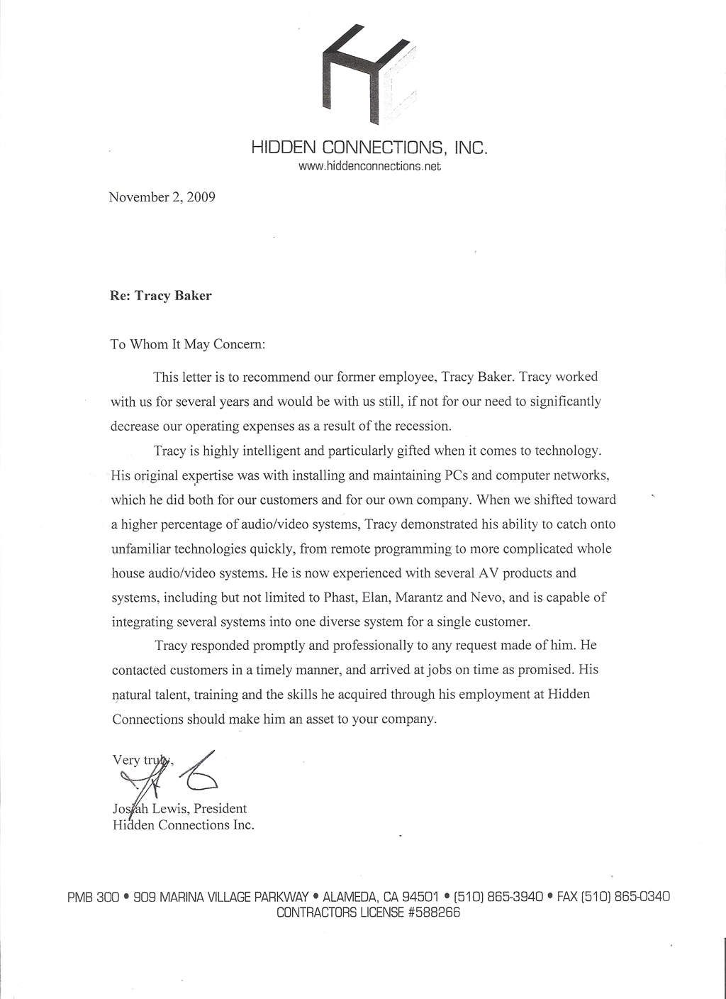 Letter Of Recommendation For A Job From Previous Employer Letter – Sample Professional Letter of Recommendation for Job